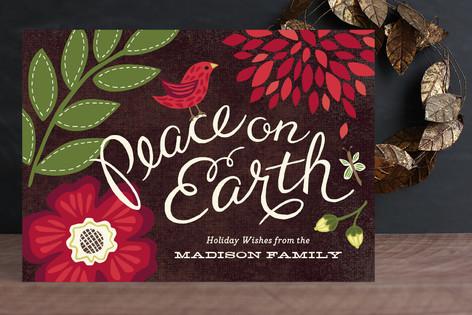 Garden Song Holiday Cards