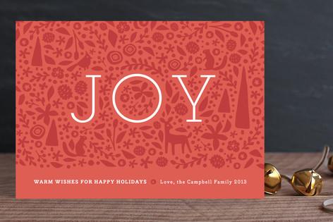 Handcut Joy Holiday Cards