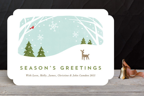 Woodland Greetings Holiday Cards