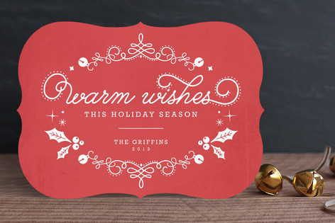 Ornamental Wishes Holiday Cards