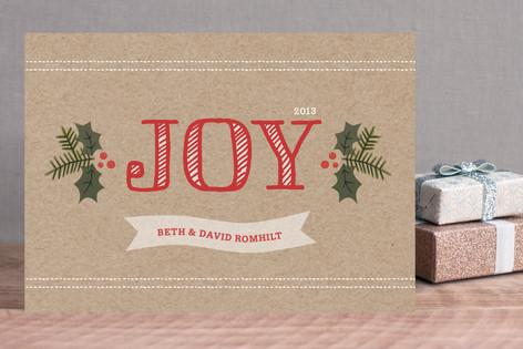 Holly Joy Holiday Cards