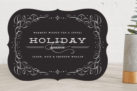 Vintage Chic Holiday Cards