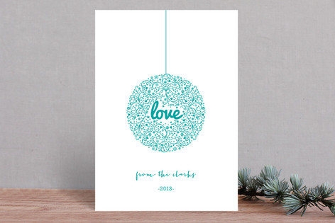 Love Joy Holiday Cards