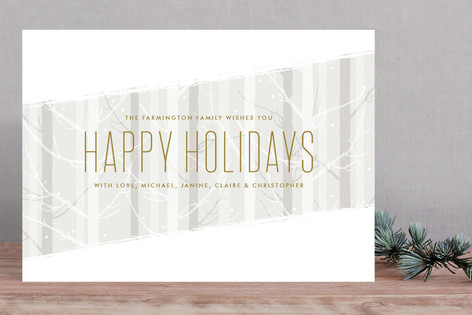 Frosted Forest Holiday Cards