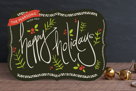 Jolly Holidays Holiday Cards