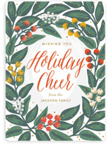 Cheers to the Holidays Holiday Cards