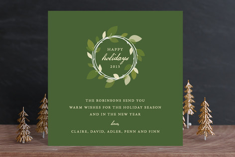 Autumn Wreath Holiday Cards