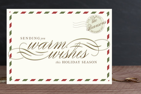 Airmail Holiday Cards