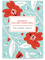 Modern Storybook Holiday Non-Photo Cards