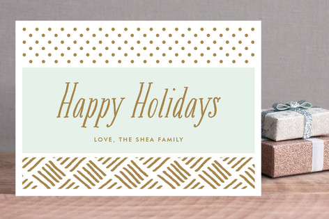 Gilded Holiday Cards
