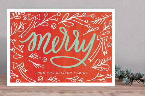 Merry Berry Mix Holiday Cards