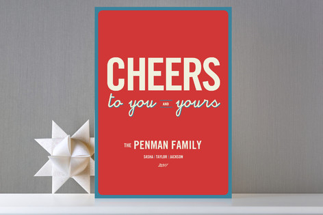 Float + Cheers to You Holiday Cards