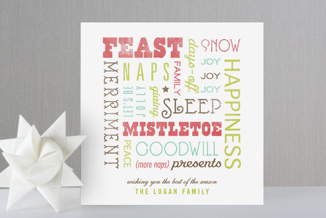 Best of the Season Holiday Cards