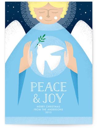 Peace Angel Christmas Cards