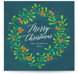 Festive Mistletoe Wreath