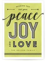 Striped Peace Joy Love