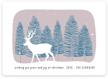 Winter elk