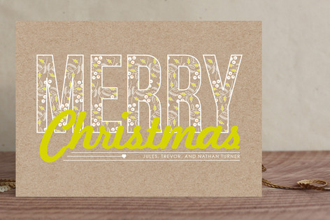 A Berry Merry Christmas Holiday Cards
