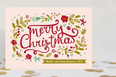 Jardin de Noel Holiday Cards