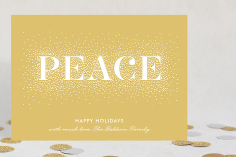 Spreading Peace Holiday Cards