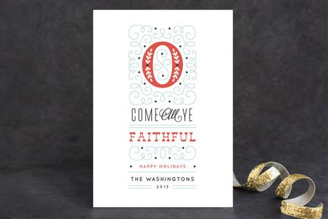 Faithful Greetings Holiday Cards