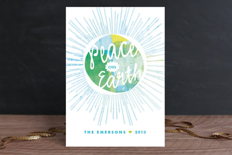 Get Your Peace On Holiday Cards
