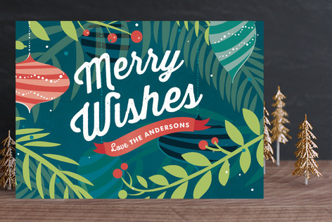 Merry Greeting Holiday Cards