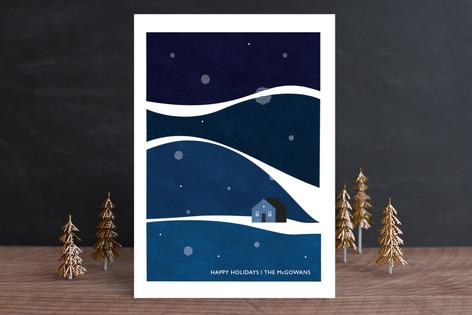 Wavy Wonderland Holiday Cards