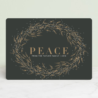 winter bliss Holiday Cards