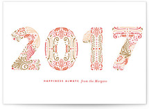 Engraved New Year