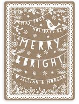 Folksy Christmas Papercut