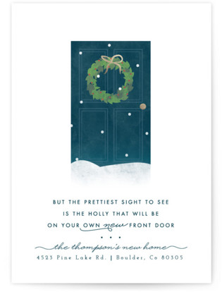 New Door Holly Holiday Non-Photo Cards