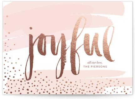 Very Joyful Holiday Non-Photo Cards