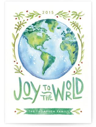 World Joy Holiday Non-Photo Cards