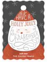 Lettered Santa