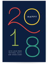 Colorful new year wishes
