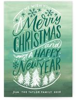 Snowfall Christmas and New Years