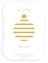 Merry Ornament