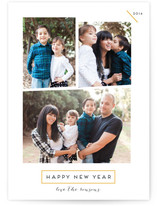 Geometric New year by chica design