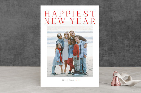 Grand New Year Photo Cards
