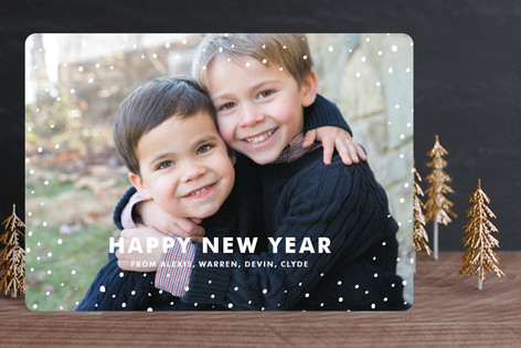Sprinkles New Year Photo Cards