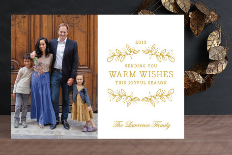 Joyful Season New Year Photo Cards