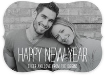 Happiest Homestyle New Year Photo Cards