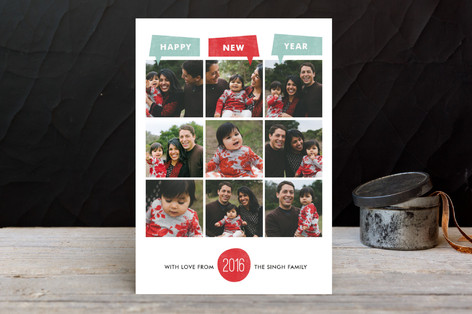 Year of Photos New Year Photo Cards