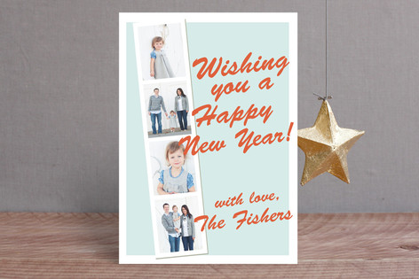 Photo Booth New Year Photo Cards