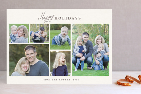 Classic Frames New Year Photo Cards