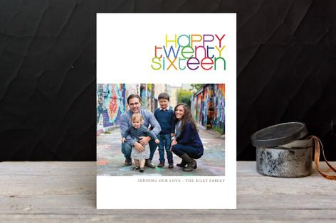 Twenty-Fifteen New Year Photo Cards