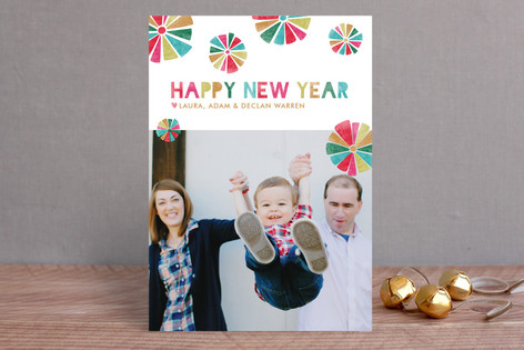 Festive New Year Photo Cards