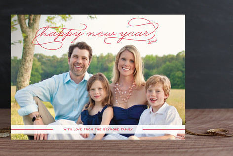 Gallery Classic New Year Photo Cards
