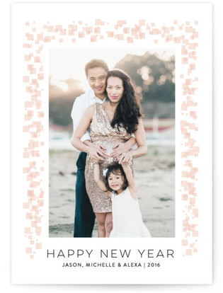 Rock Candy New Year's Photo Cards